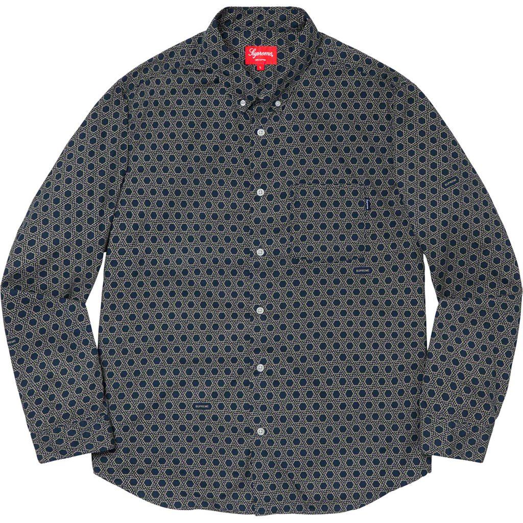supreme-19aw-19fw-fall-winter-monogram-shirt