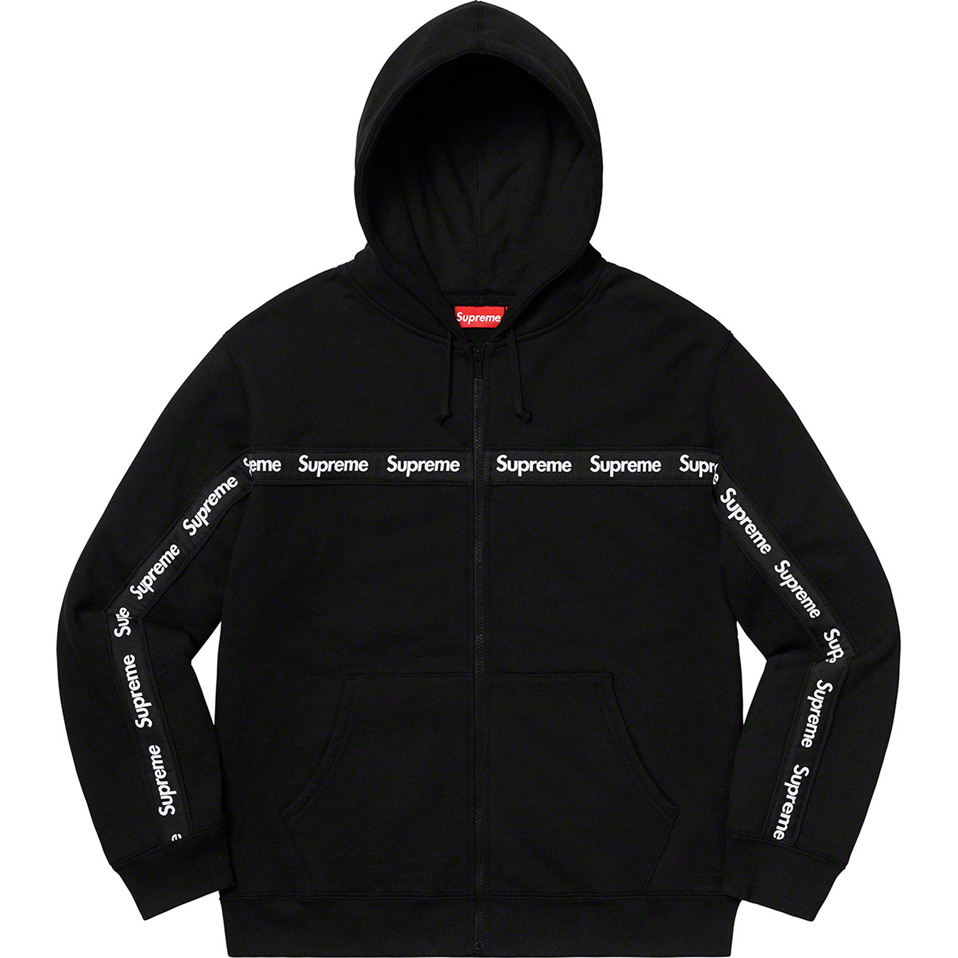 supreme-19aw-19fw-fall-winter-text-stripe-zip-up-hooded-sweatshirt