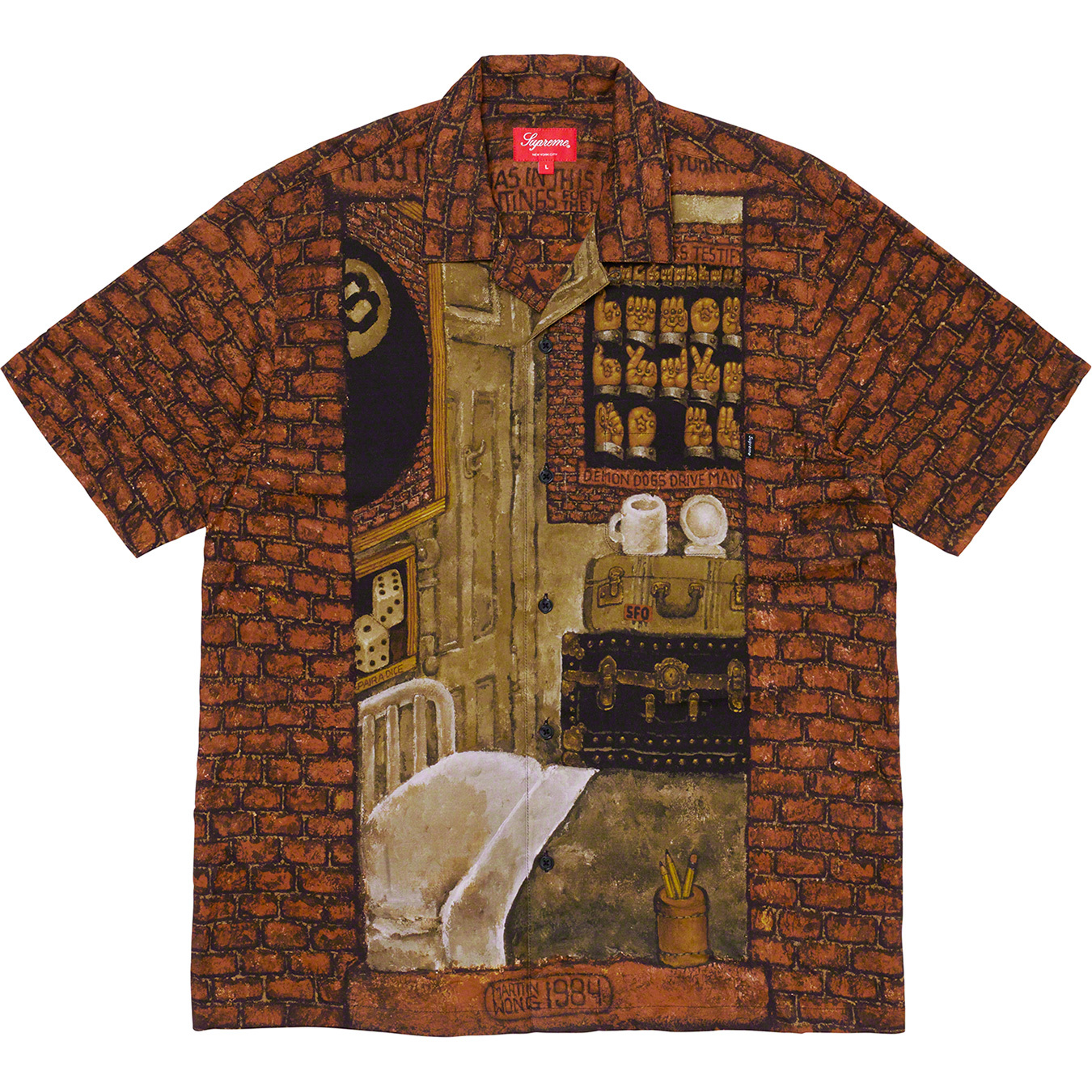 supreme-19aw-19fw-fall-winter-martin-wong-supreme-secret-world-rayon-s-s-shirt