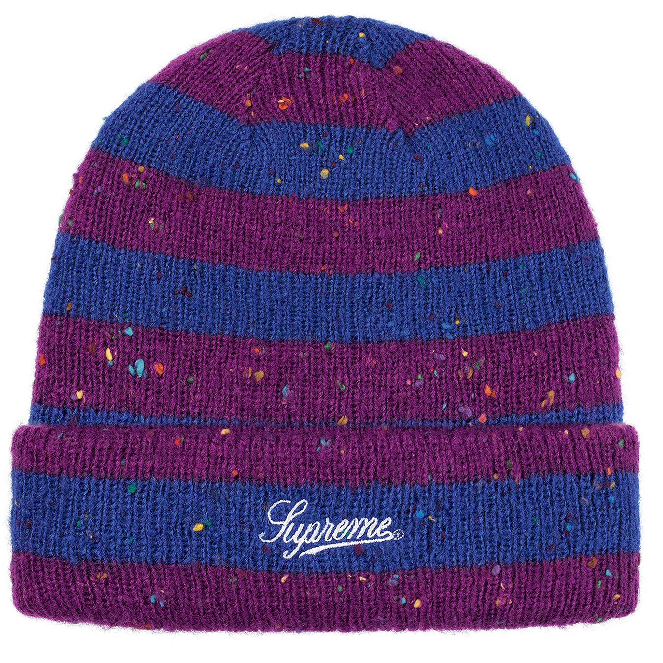supreme-19aw-19fw-fall-winter-stripe-speckle-beanie