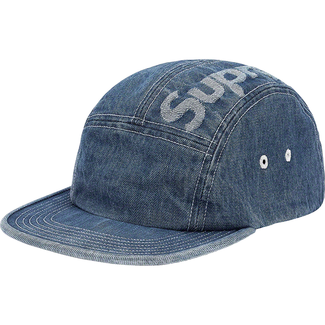 supreme-19aw-19fw-fall-winter-top-logo-denim-camp-cap