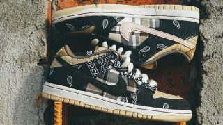TRAVIS SCOTT × NIKE SB DUNK LOW PRM QSが2/29に国内発売予定