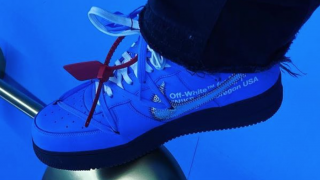 OFF-WHITE × NIKE AIR FORCE 1 MCA BLACK SOLEが初公開