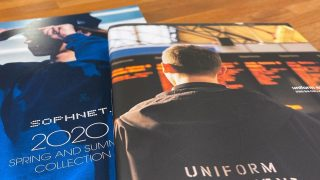 SOPHNET. & UNIFORM EXPERIMENT 20SSコレクションが1/25に立ち上げ予定