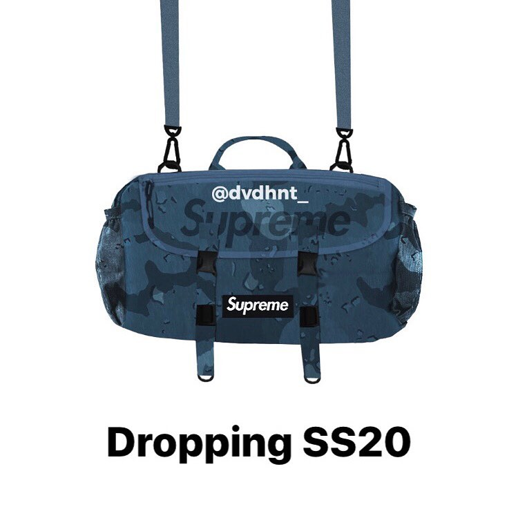 supreme-20ss-spring-summer-blue-camo-shoulder-bag