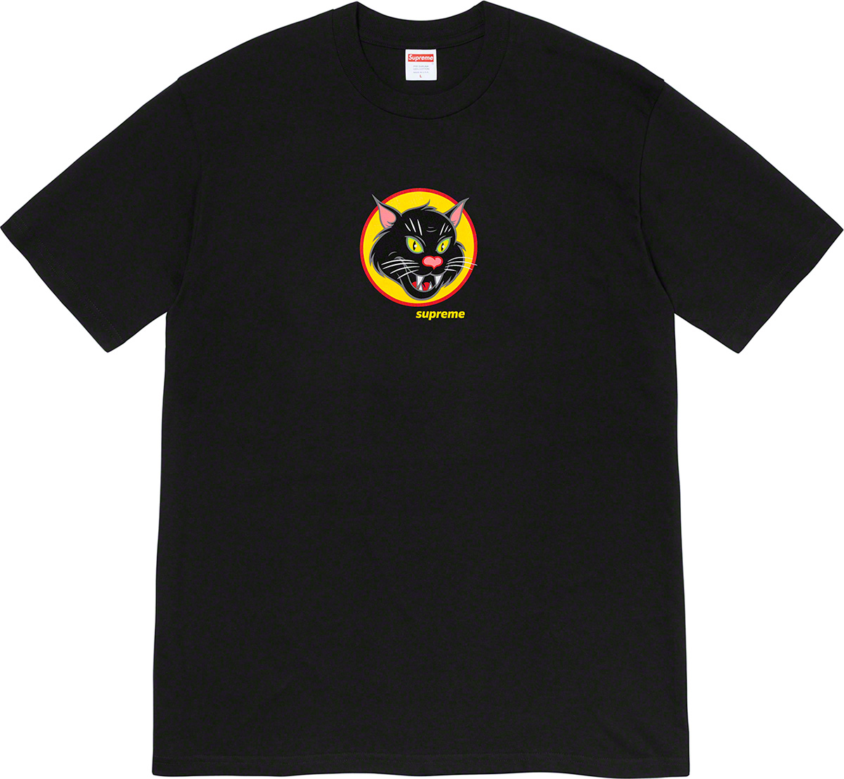 supreme-20ss-spring-summer-black-cat-tee
