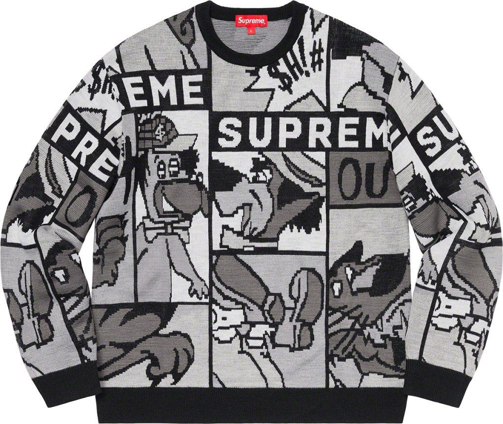 supreme-20ss-spring-summer-cartoon-sweater
