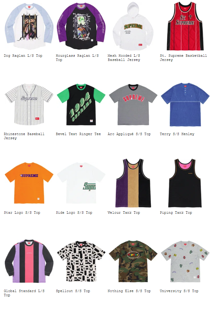 supreme-20ss-spring-summer-collection-tops-sweaters