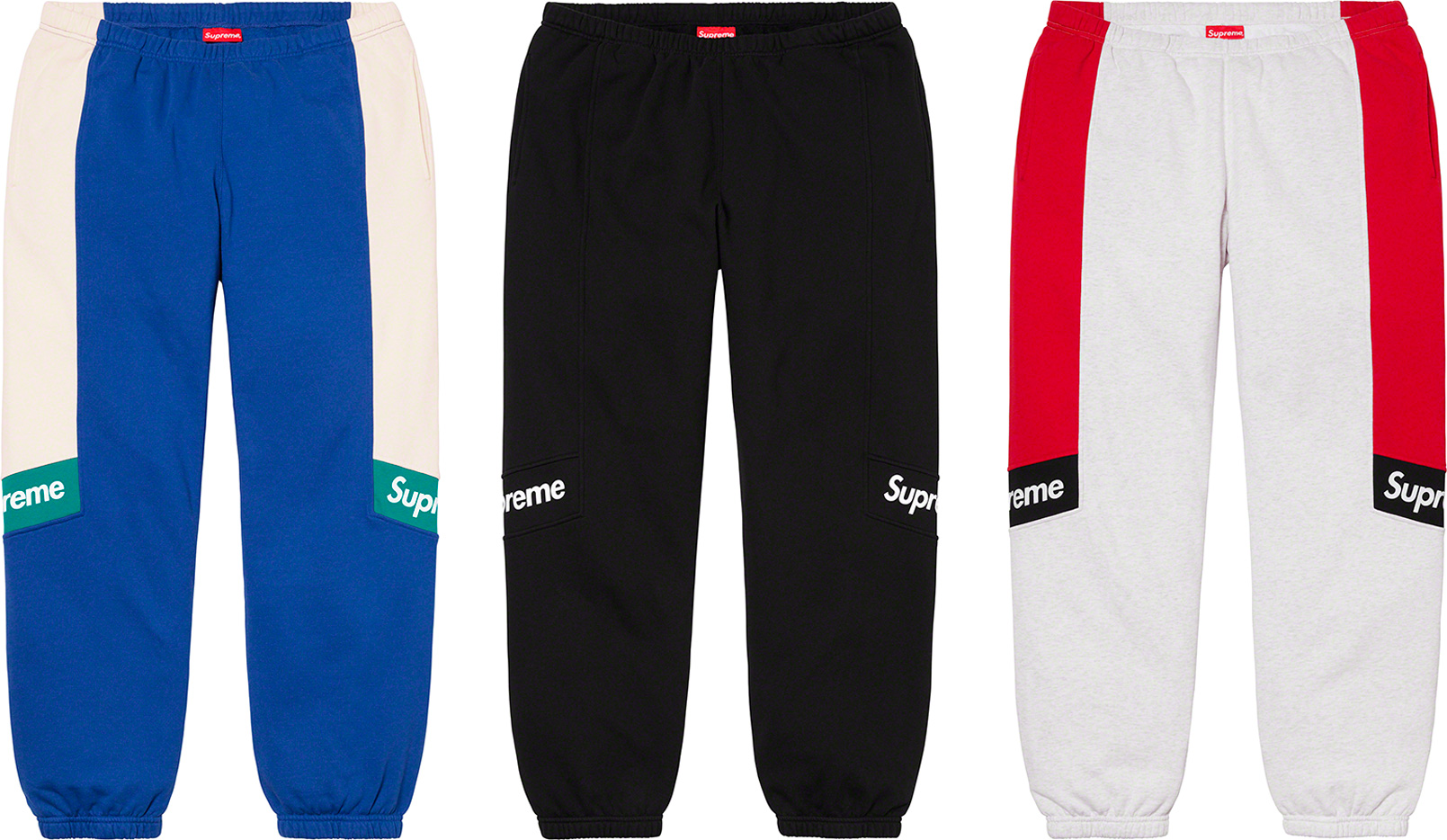 supreme-20ss-spring-summer-color-blocked-sweatpant