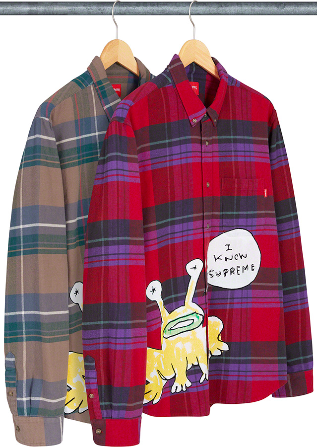 supreme-20ss-spring-summer-daniel-johnston-plaid-shirt