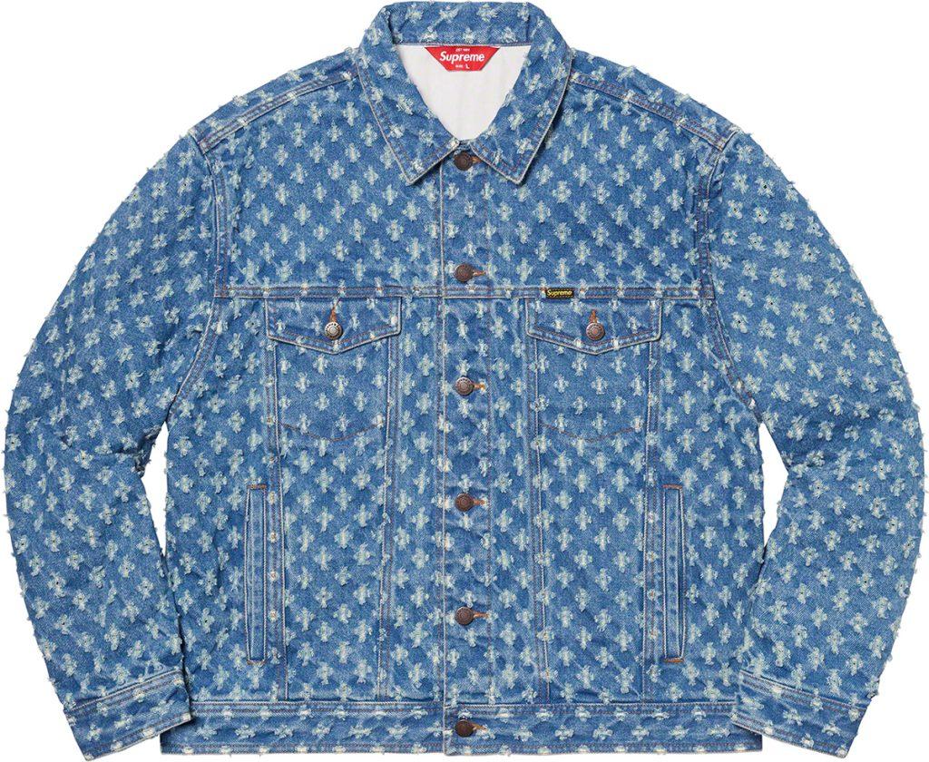 supreme-20ss-spring-summer-hole-punch-denim-trucker-jacket