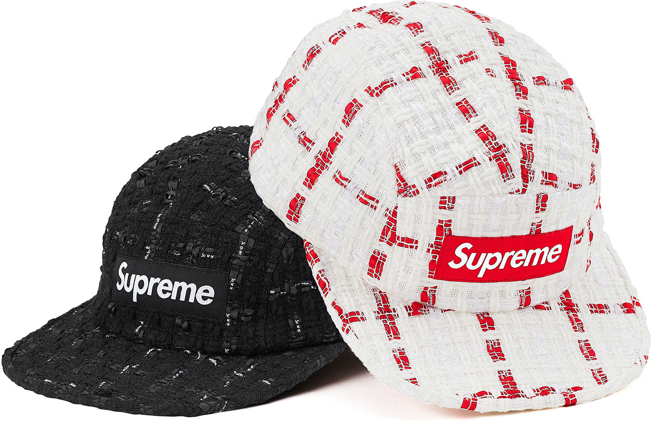 supreme-20ss-spring-summer-ribbon-boucle-camp-cap