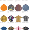 Supreme 20SS コレクションのシャツ一覧ページ