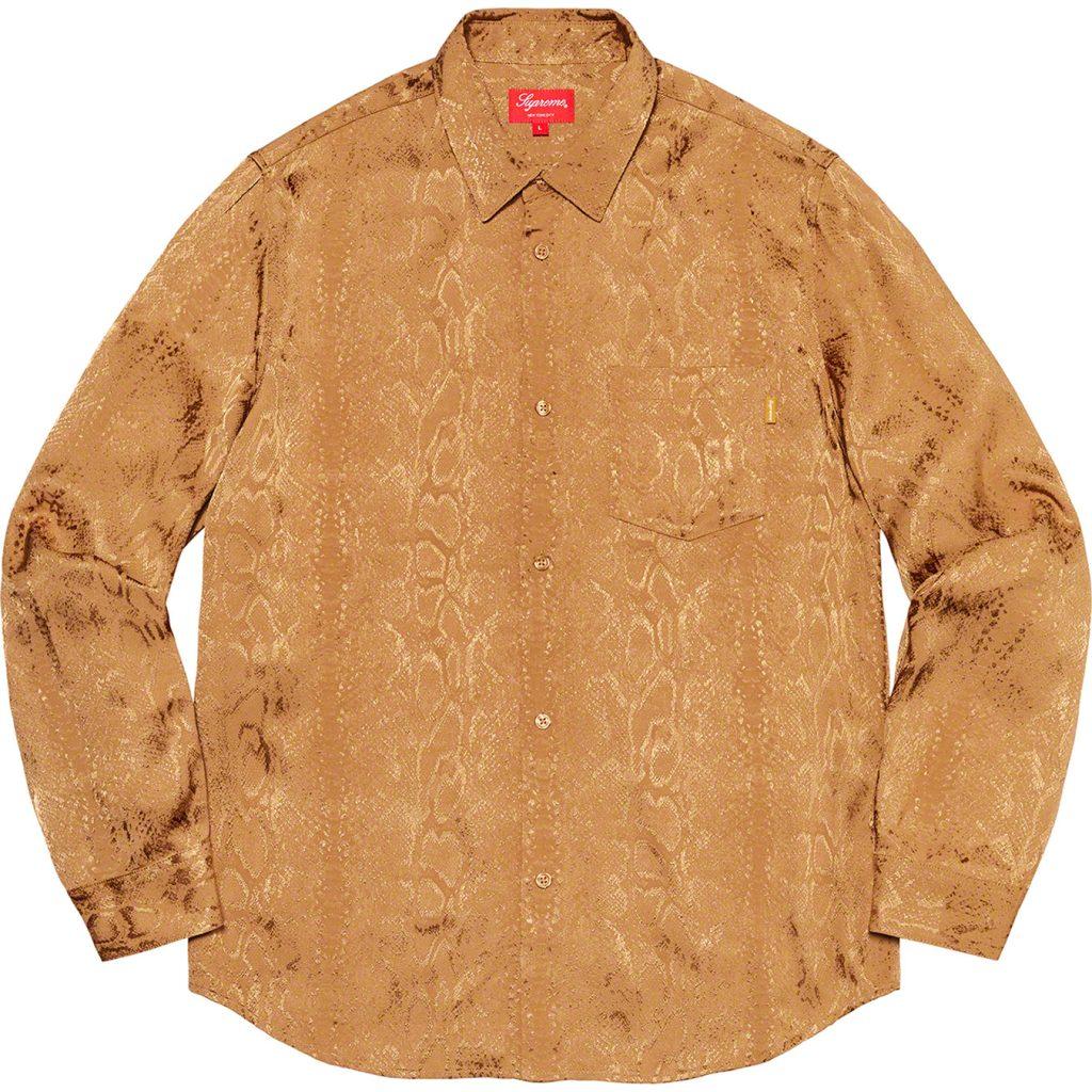 supreme-20ss-spring-summer-snakeskin-jacquard-shirt