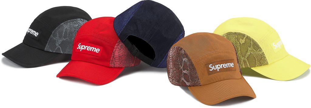 supreme-20ss-spring-summer-snakeskin-mesh-camp-cap