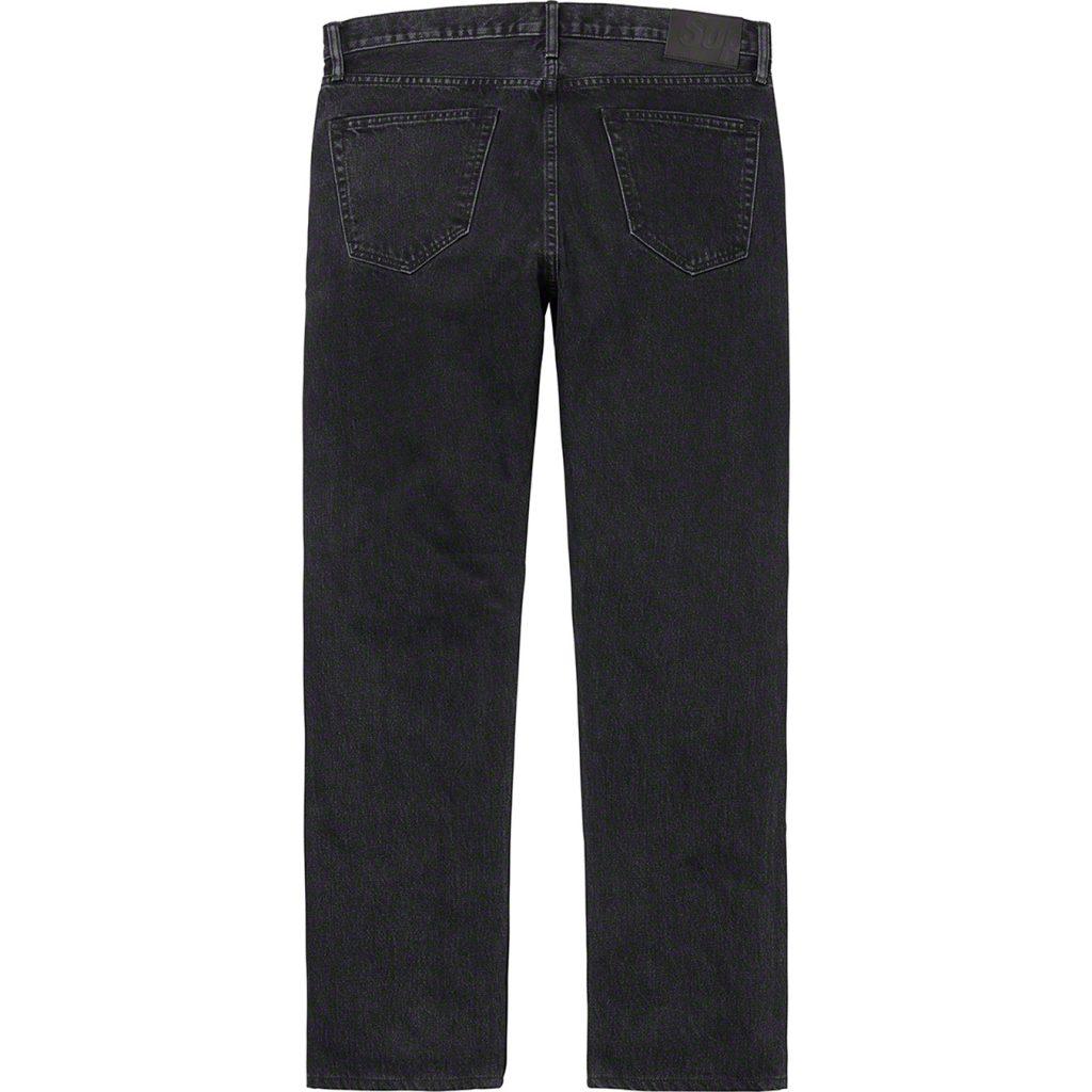 supreme-20ss-spring-summer-stone-washed-black-slim-jean