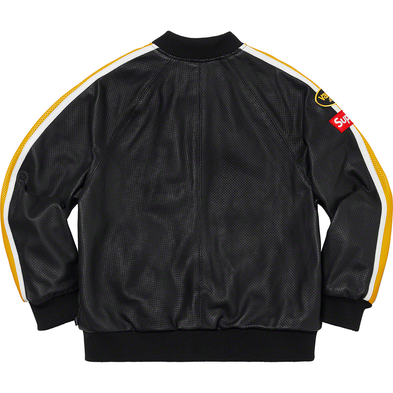 supreme-20ss-spring-summer-supreme-vanson-leathers-perforated-bomber-jacket