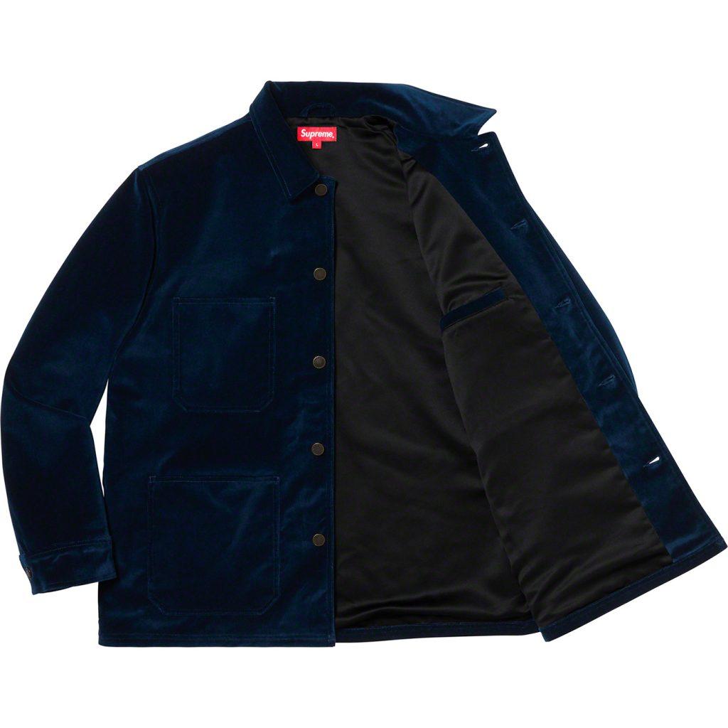 supreme-20ss-spring-summer-velvet-chore-coat
