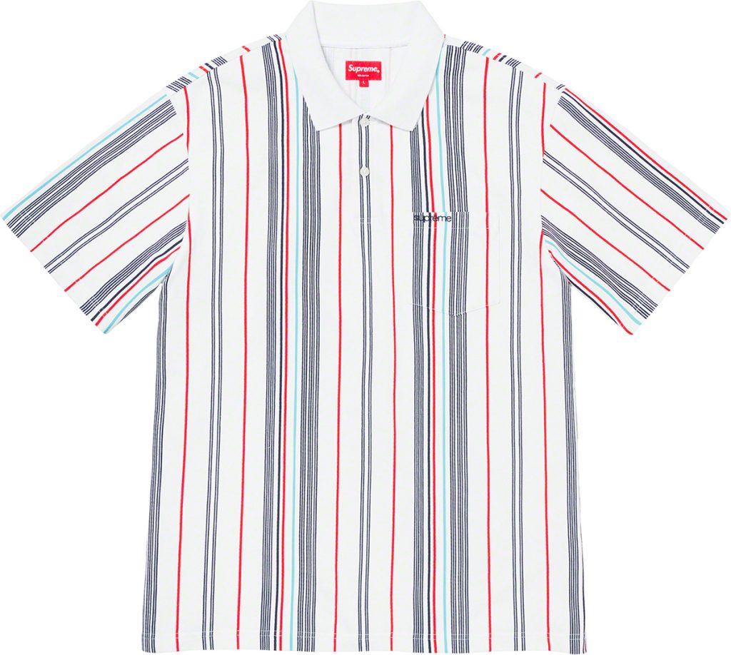 supreme-20ss-spring-summer-vertical-stripe-polo