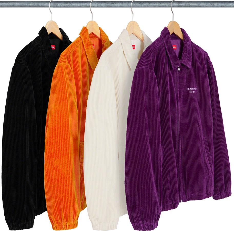 supreme-20ss-spring-summer-wide-wale-corduroy-harrington-jacket
