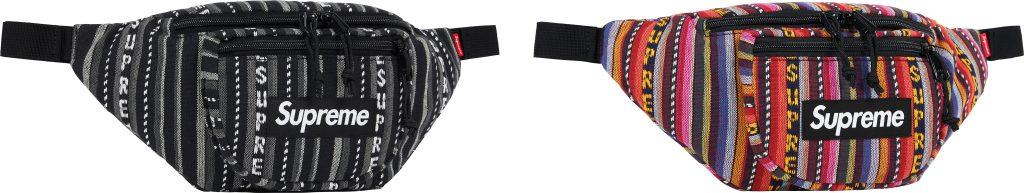 supreme-20ss-spring-summer-woven-stripe-waist-bag