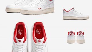 KITH × NIKE AIR FORCE 1 LOW REDが7/4に国内発売予定