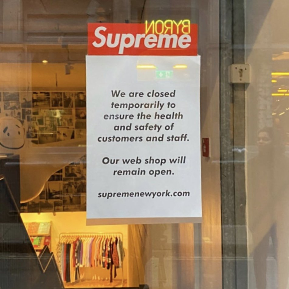 all-supreme-locations-will-be-closed-temporarily