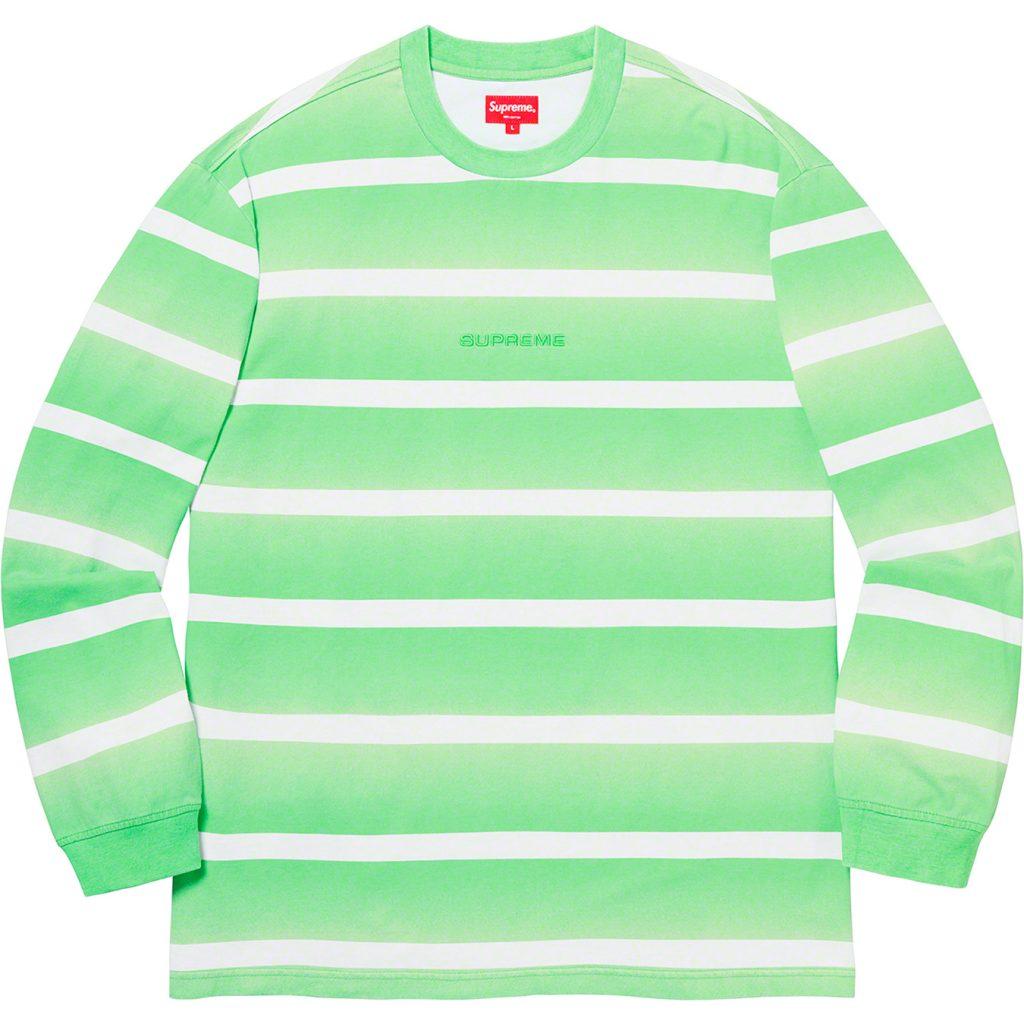 supreme-20ss-spring-summer-fade-stripe-l-s-top