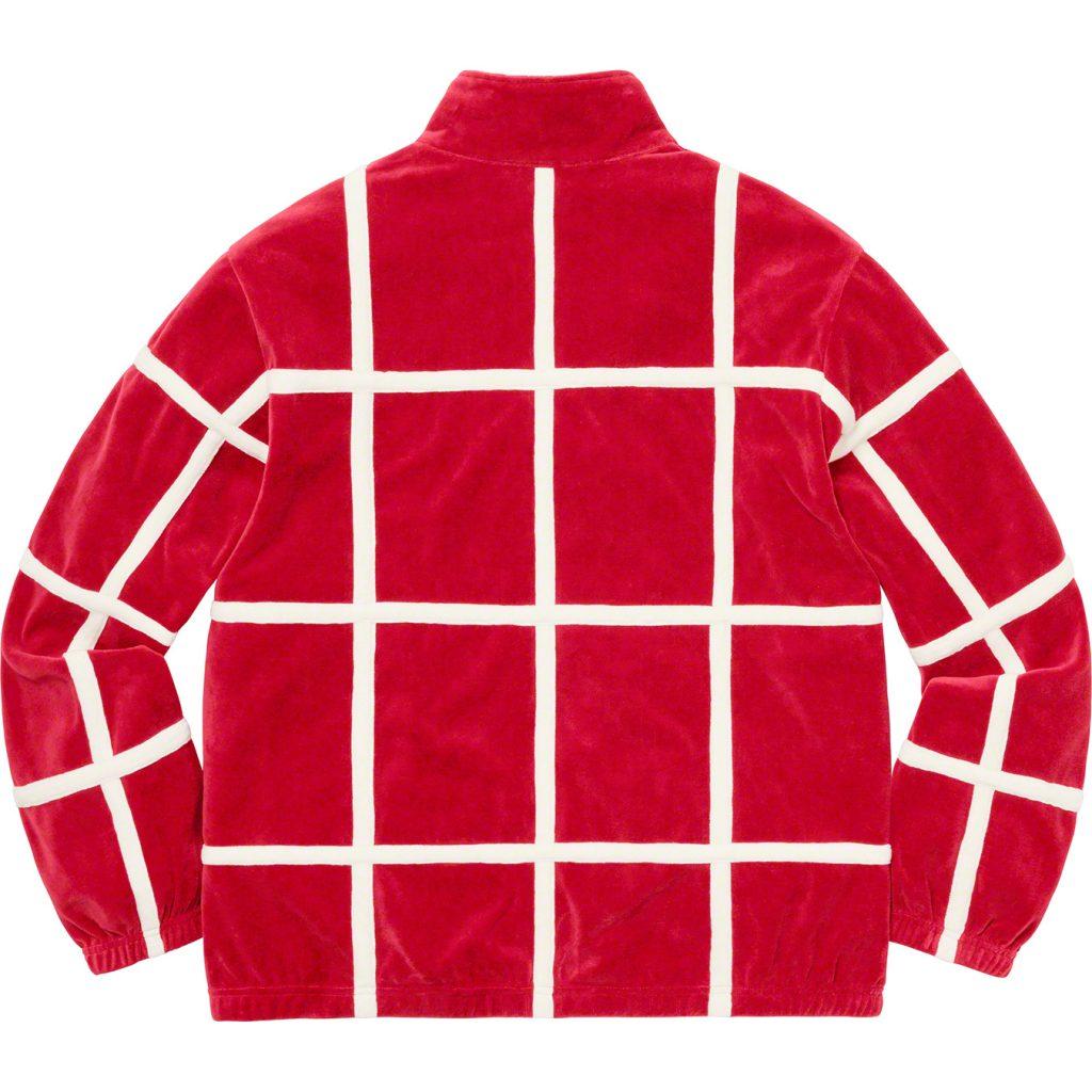 supreme-20ss-spring-summer-grid-taping-velour-jacket