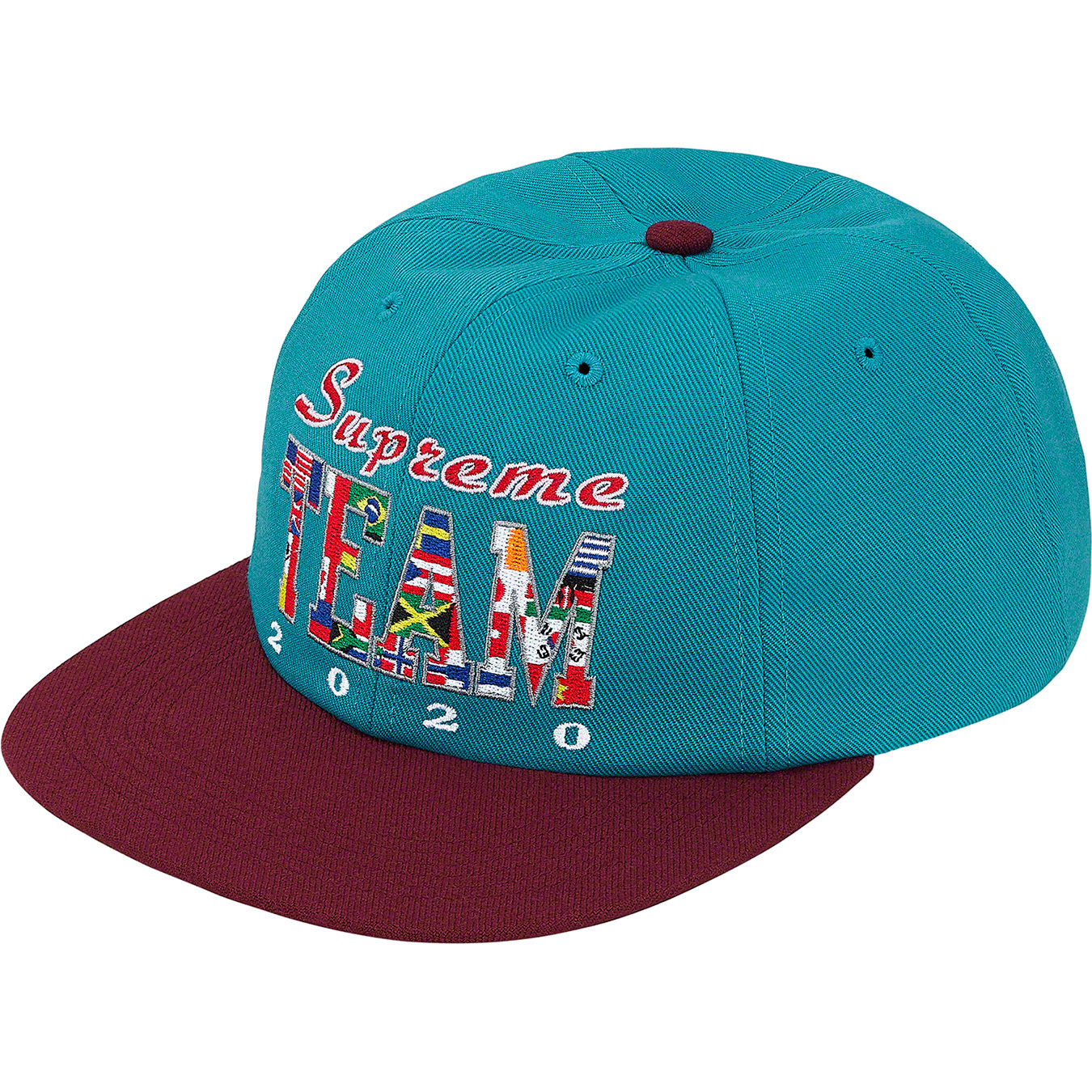 supreme-20ss-spring-summer-supreme-team-6-panel