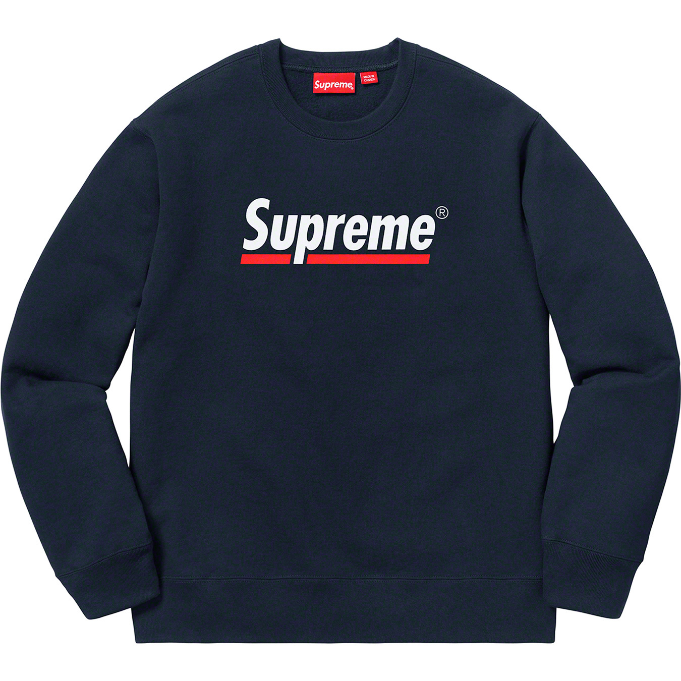 supreme-20ss-spring-summer-underline-crewneck