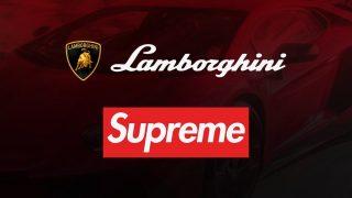 Supreme × Lamborghini 20SS コラボアイテムが4月4日 Week6に国内発売予定