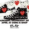 PLAY COMME des GARCONS × CONVERSE ALL-STAR LOW & HIが4/29、5/15に国内発売予定