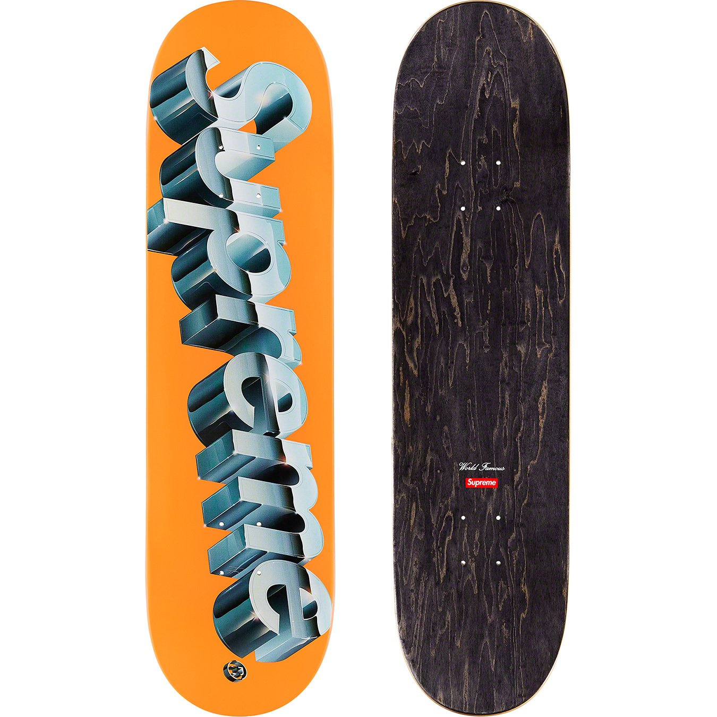 supreme-20ss-spring-summer-chrome-logo-skateboard