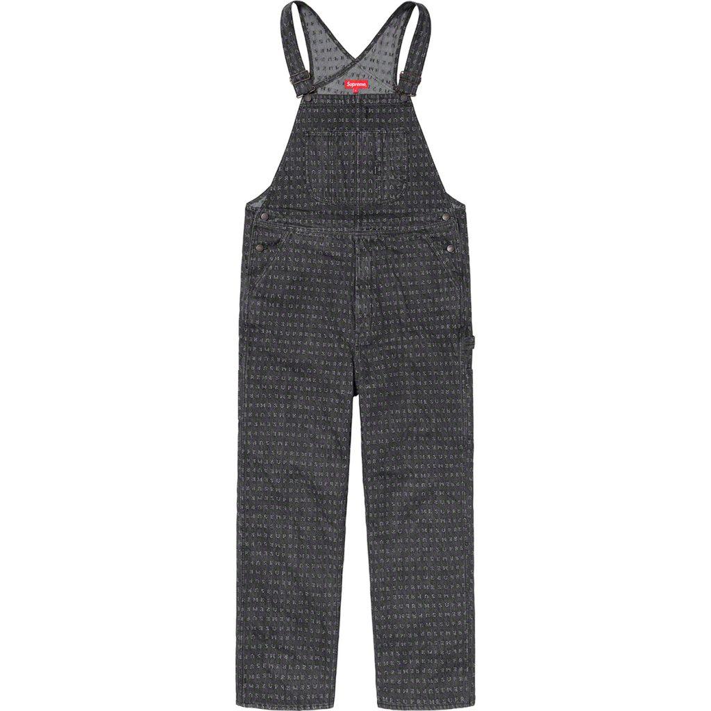supreme-20ss-spring-summer-jacquard-logos-denim-overalls