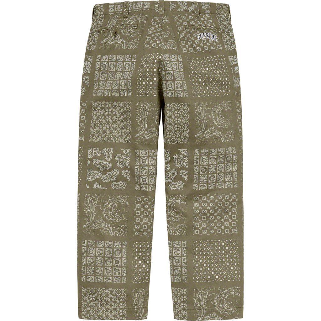 supreme-20ss-spring-summer-paisley-grid-chino-pant