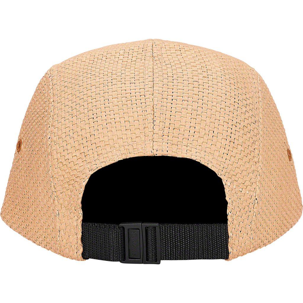 supreme-20ss-spring-summer-raffia-camp-cap