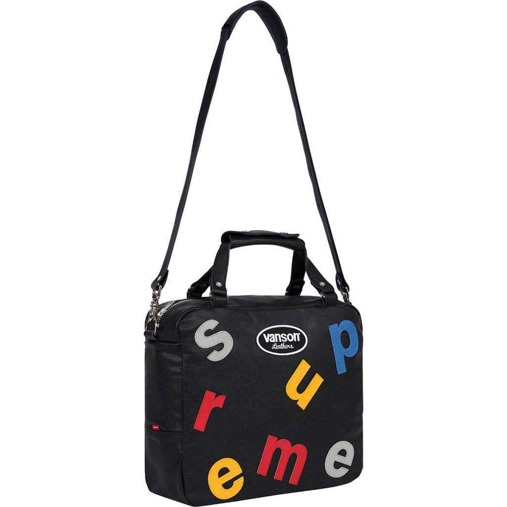 supreme-20ss-spring-summer-supreme-vanson-leathers-letters-bag