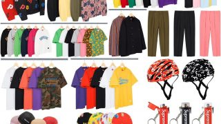 Supreme 公式通販サイトで4月11日 Week7に発売予定の新作アイテム【Motion Logo パーカーなど】