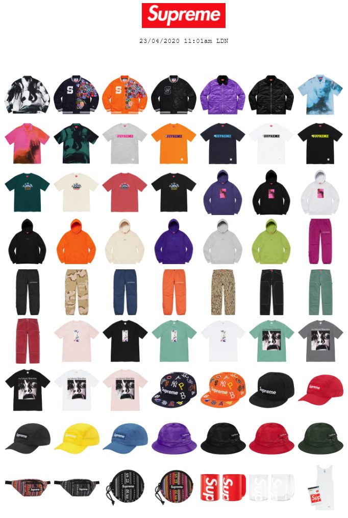 supreme-online-store-20200425-week9-release-items