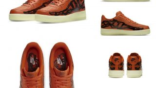NIKE AIR FORCE 1 LOW SKELETON BRILLIANT ORANGEが10/28に国内発売予定【直リンク有り】