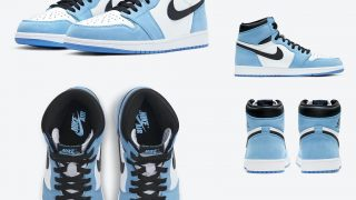 NIKE AIR JORDAN 1 RETRO HIGH OG UNC UNIVERSITY BLUEが3/6に国内発売予定【直リンク有り】