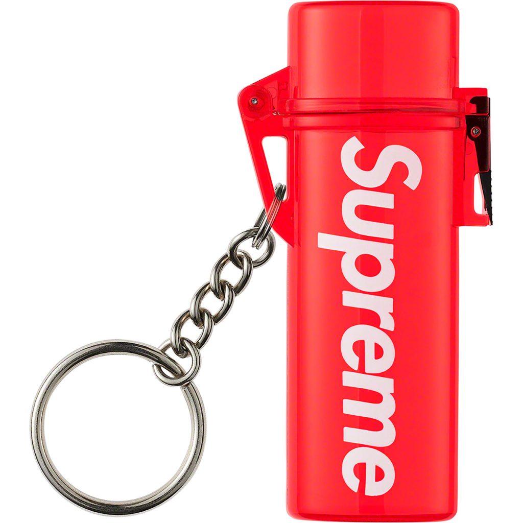 supreme-20ss-spring-summer-waterproof-lighter-case-keychain