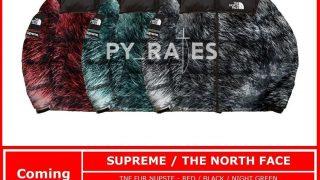 Supreme × THE NORTH FACE 20AW FUR コラボコレクションが発売予定