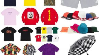 Supreme 公式通販サイトで7月4日 Week19に発売予定の新作アイテム【夏の新作Tシャツなど】