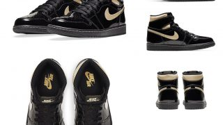 NIKE AIR JORDAN 1 HIGH OG BLACK METALLIC GOLDが11/30に国内発売予定