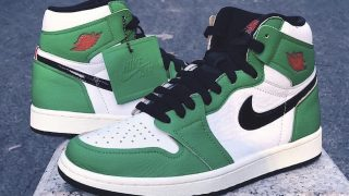 NIKE WMNS AIR JORDAN 1 LUCKY GREENが10/11に海外発売予定