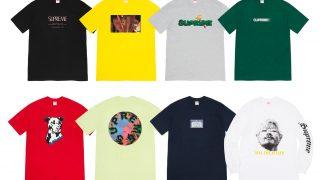 Supreme 公式通販サイトで7月4日 Week19以降に発売予定の新作アイテム【夏の新作Tシャツなど】