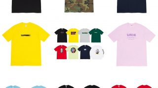 Supreme 公式通販サイトで7月4日 Week19以降に発売予定の新作アイテム【夏の新作Tシャツなど】