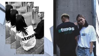 atmos × WIND AND SEA コラボTシャツが7/10に国内発売予定